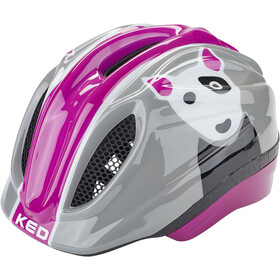 KED Meggy Trend Kask rowerowy Dzieci, dog violet